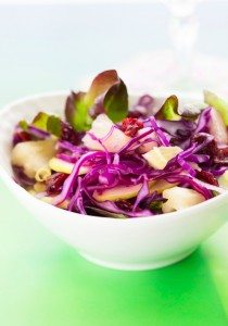 Apples and Red Cabbage Salad