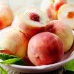 peach month, peaches, vitamin c