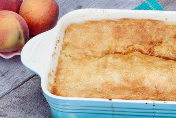 peachy dessert, peachy cake, mindful recipe