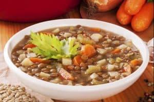 Immune Boosting Lentil Vegetable Soup