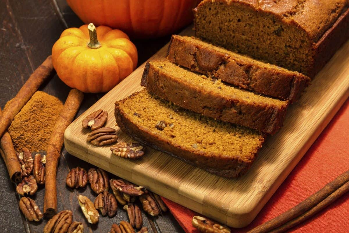 pumpkin bread, pumpkin recipe, antioxidants, immune boost