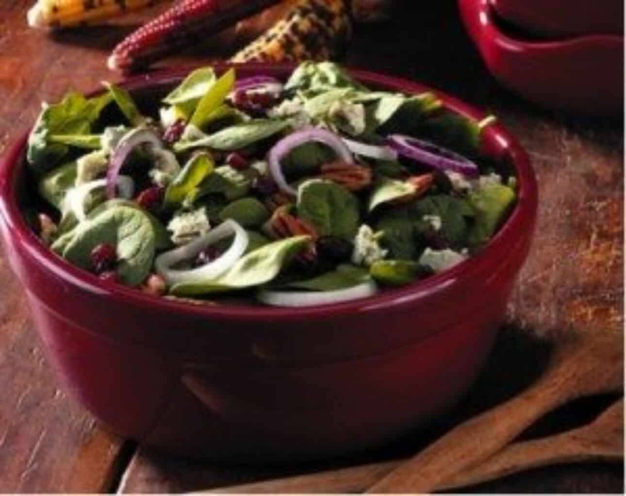 Holiday Baby Spinach Salad