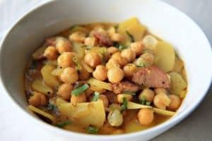 Spanish Garbanzo Bean Soup