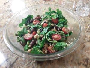 Black-Eyed Pea Kale Salad